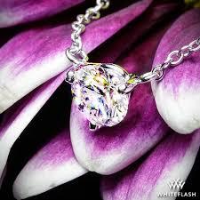 martini three g diamond pendant