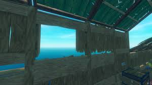 Cool Window Design Utilising Fence Gates And Wooden Windows Half Wall Merge Raftthegame