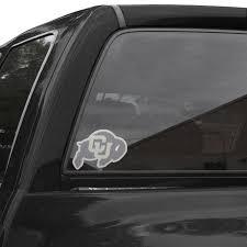 Colorado Buffaloes Perforated Window Decal