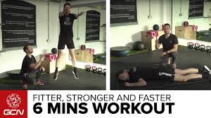 bodyweight workout for road cycling