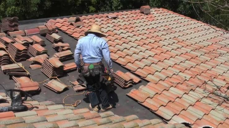 roof tile repairs