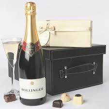 bollinger chocolate set gift baskets