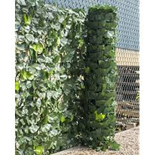 Woodside Artificial Ivy Leaf Garden Fence Wall Privacy Screening Hedge Amazon Co Uk Garden Outdoors