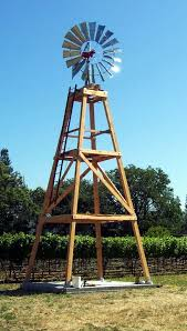 how to build a wood windmill tower