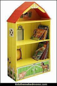 Farm Bedroom Ideas Farm Barn Bookcase Kids Theme Bedrooms Maries Manor Decorating Ideas Farm Bedroom Kids Bedroom Themes Farm Bedroom