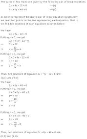 chapter 3 pairs of linear equations in