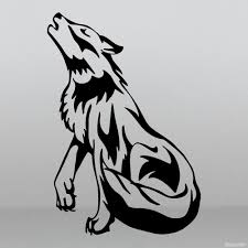 Decal Wolf Howling At The Moon Full Body Buy Vinyl Decals For Car Or Interior Decal Factory Stickerpro Different Colors And Sizes Is Avalable Free World Wide Delivery