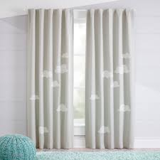 Cloud Blackout Curtains Crate And Barrel In 2020 Kids Room Curtains Kids Curtains Cool Curtains