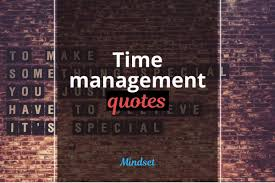 the best time management quotes habitgrowth