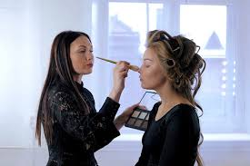 fashion week as a makeup artist