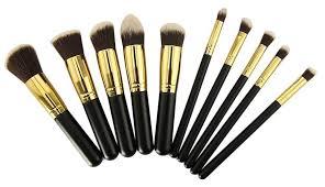 best cosmetic makeup brushes set kit