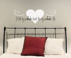 Bedroom Wall Decal Above Bed Stickers Online Flowers Design Price B M Argos Adults Vamosrayos