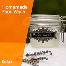 homemade face wash