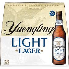 yuengling light lager 12 pack beer 12