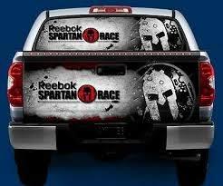 Reebok Spartan Race Tailgate Or Window Truck Tailgate Vinyl Graphic Decal Wrap Ebay