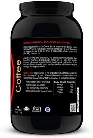 sinew nutrition isocore 90 whey