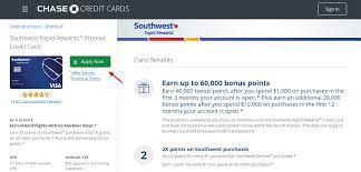 chase southwest rapid rewards premier