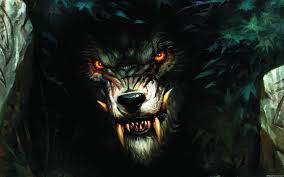 scary wolf wallpapers top free scary