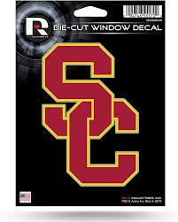 Amazon Com Rico Industries Inc Usc Trojans 5 Die Cut Decal Flat Vinyl Auto Home Sticker Emblem University Of Southern California Sports Outdoors