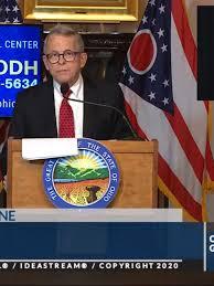 Ohio Governor Mike DeWine announces ...