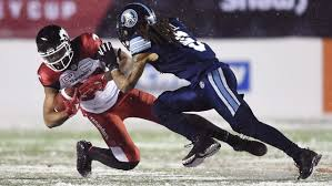 Linebacker Marcus Ball isn't stressing about still being a CFL ...