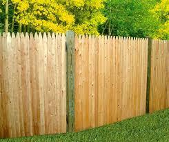 Cedar Custom And Stockade Wood Fence Welcome To Good Day Fence
