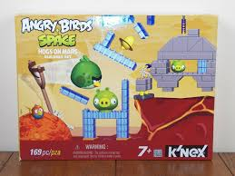 Angry Birds Space K'NEX Hogs on Mars 169 PC KNEX Set Green Pig 72549 ** for  sale online
