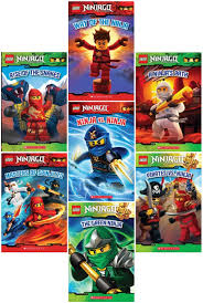 LEGO Ninjago 7 Book Set - Way of the Ninja - Masters of Spinjitzu - Ninja  vs Ninja - Rise of the Snakes - Ninja's Path - Pirates vs Ninja - Green  Ninja: Tracey West: 9780545657532: Amazon.com: Books