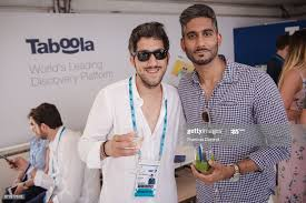 CEO of Taboola Adam Singolda and Gary Singh attend the Happy Hour... News  Photo - Getty Images