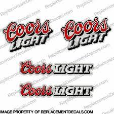Other Decals Coors Light Pocket Bike Decals P Cl