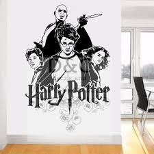 Harry Potter 3d Window Decal Wall Sticker Art Mural Hermione Ron Weasley H319