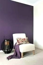 purple painted walls in bedroom paint