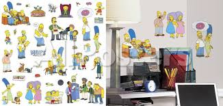 The Simpsons Peel And Stick Wall Decals Wall Decal Allposters Com