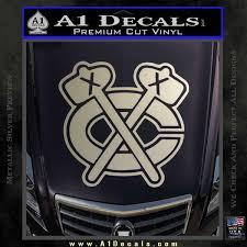 Chicago Blackhawks Decal Sticker Ni A1 Decals
