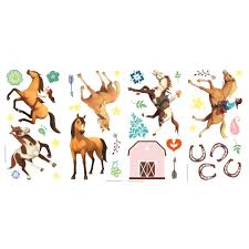 Room Mates Spirit Riding Free Peel And Stick Wall Decal Wayfair