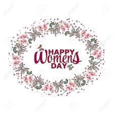 Para Mujer De La Tarjeta De Invitacion Del Dia Mujeres Felices De