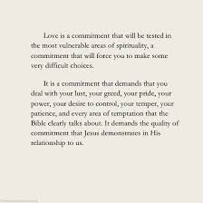 love is a commitment ravi zacharias commitment quotes faith