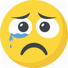 crying emoji emoticon sad face
