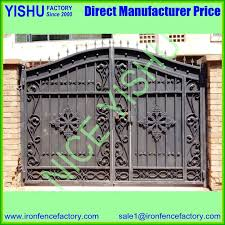 Hot Sales Used Pvc Ornamental White Faux Cheap Wrought Iron Fence Panels Metal Fence Gate Design For Sale View High Quality Metal Fence Gate Design Nice Yishu Product Details From Shijiazhuang Yishu