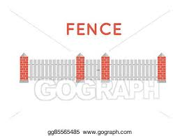 Vector Art Vector Fence Illustration Farm Fence Fence With Border Building Fence Fence Element Flat Fence Vector Illustration Fence Sign Eps Clipart Gg85565485 Gograph