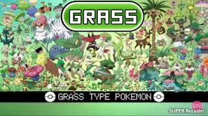 Những Pokemon Hệ Cỏ : Dương 3907 - YouTube