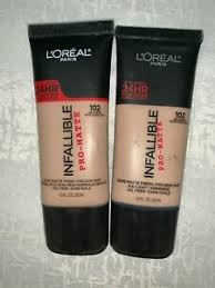 infallible pro matte foundation 2 pack