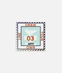 License Sticker Mint Jetty