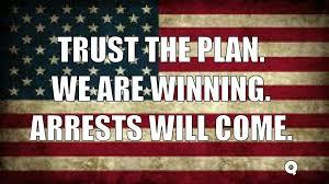 Resultado de imagen de Q trust the plan