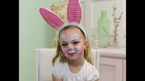 how to face paint a bunny rabbit 8
