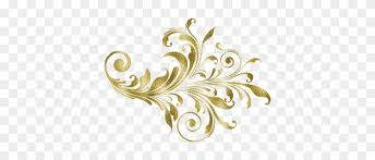 Gold Antique Desings Photo Png Images Flowers Vinyl Wall Art Decal Black Free Transparent Png Clipart Images Download