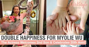 Myolie Wu Gives Birth To Second Son & Celebrates 20th Anniversary Of Her  Career | GirlStyle Singapore