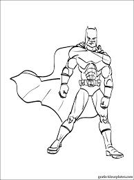 Batman Om In Te Kleuren Voor Jongens Gratis Kleurplaten