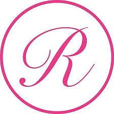Circle Monogram Letter R Initial Vinyl Car Decal Window Sticker Lettering Bumper Ebay