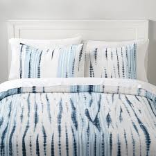 indigo tie dye girls duvet cover